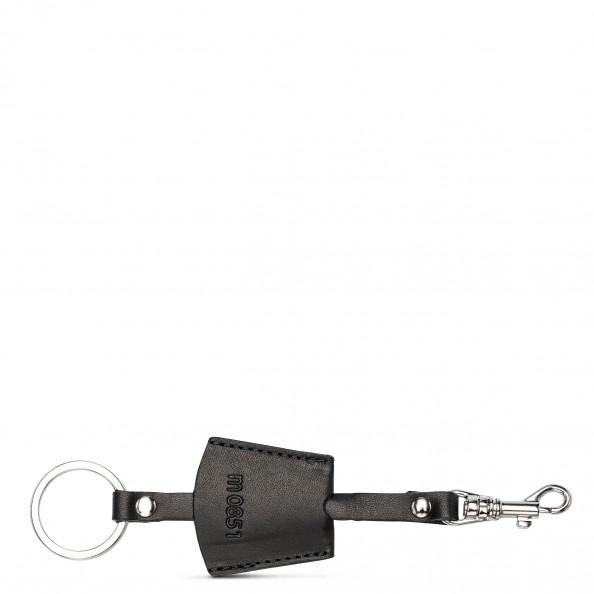 Noir Porte-clé avec crochet