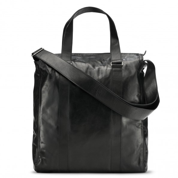 Black Medium Vertical Weekend Bag