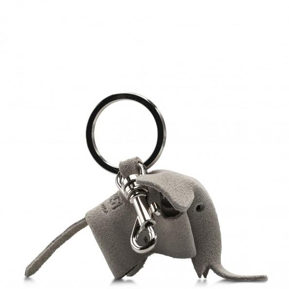 Coconut Elephant Key Ring