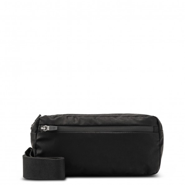Black Large Belt Bag