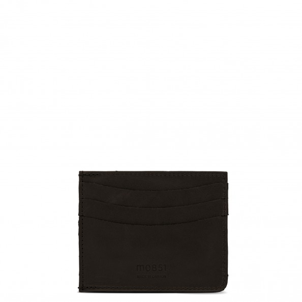 Brown Card Holder with Pocket