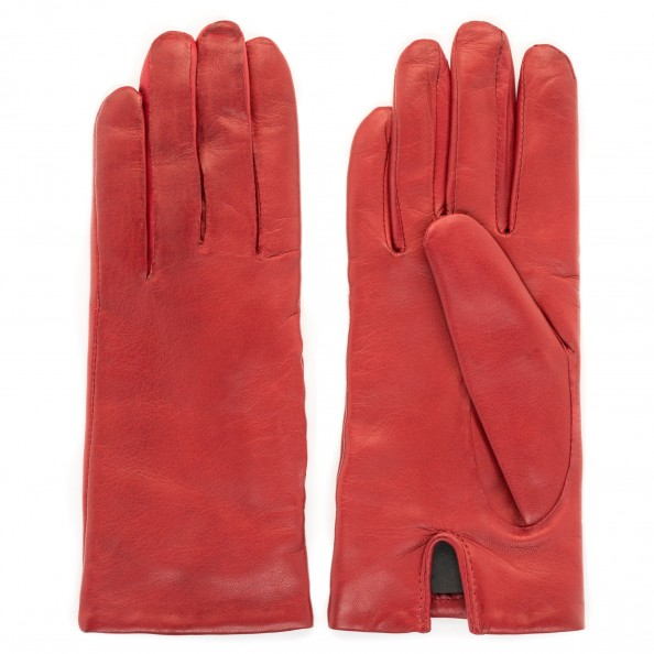 Red Classic Glove for women