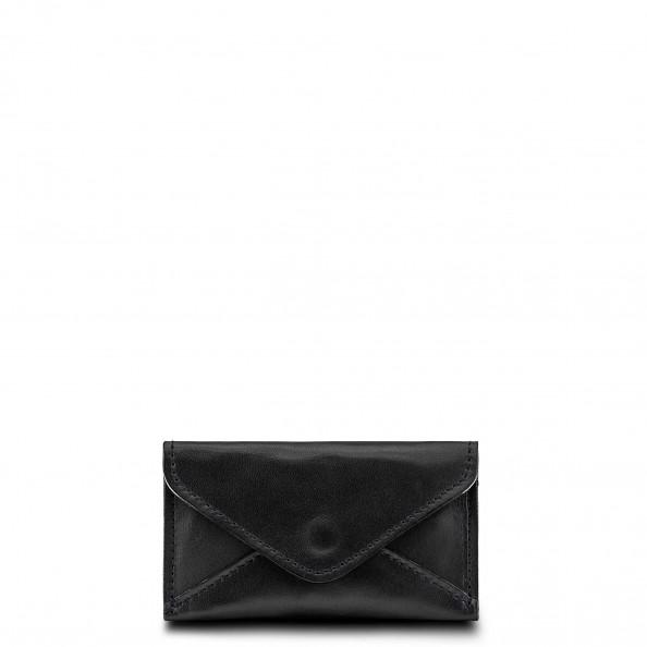 Noir Porte-cartes enveloppe