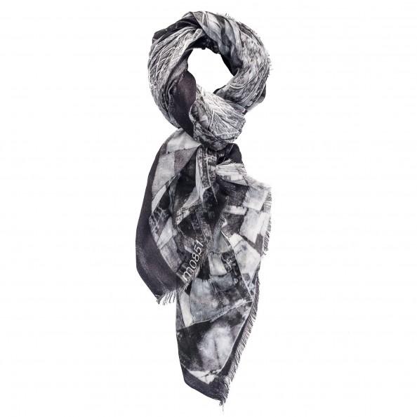 Couleur assortie Foulard imprimé en modal