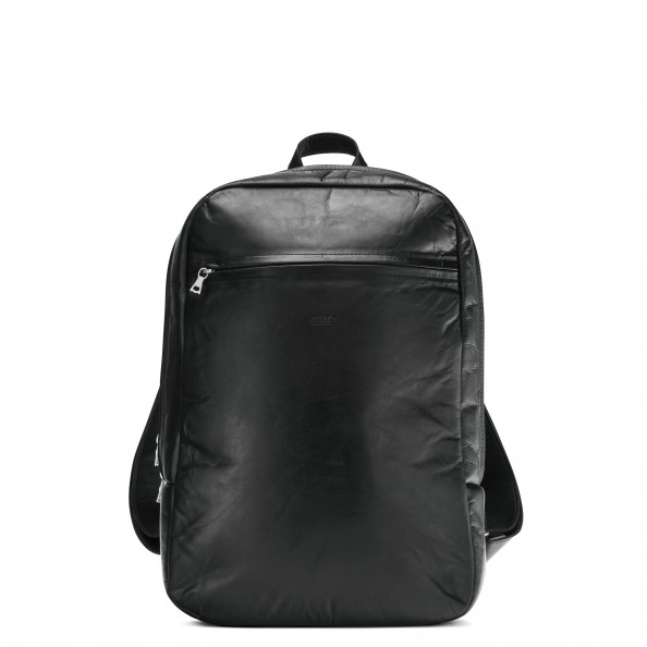 Black Small Organizer Backpack