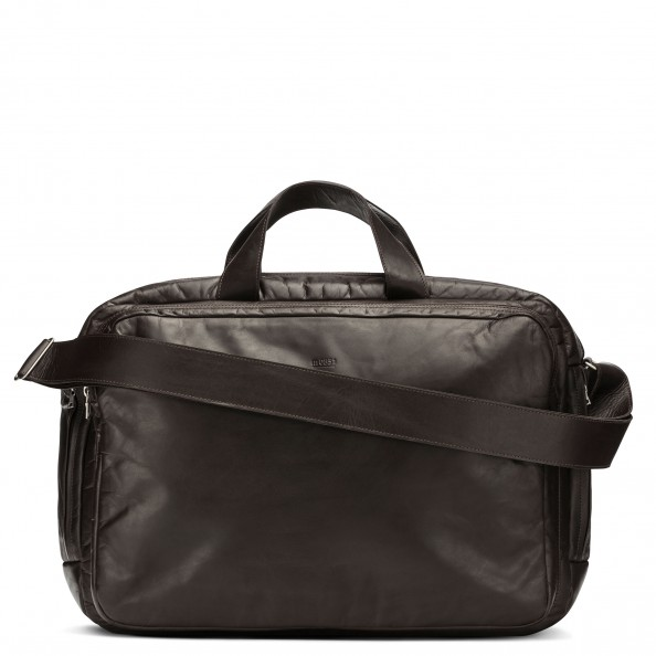 Brown Carry-All Tech Bag