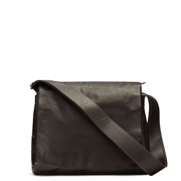 Brown Long Flap Messenger