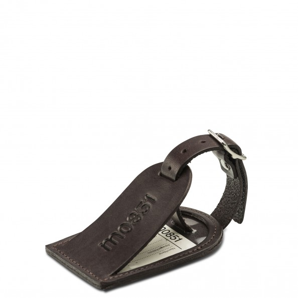 Brown Small Luggage Tag