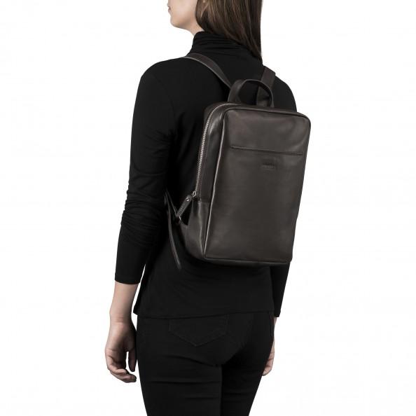 Brown Minimal Backpack
