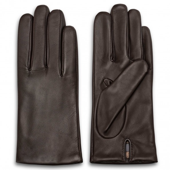 Brown Classic Glove for women