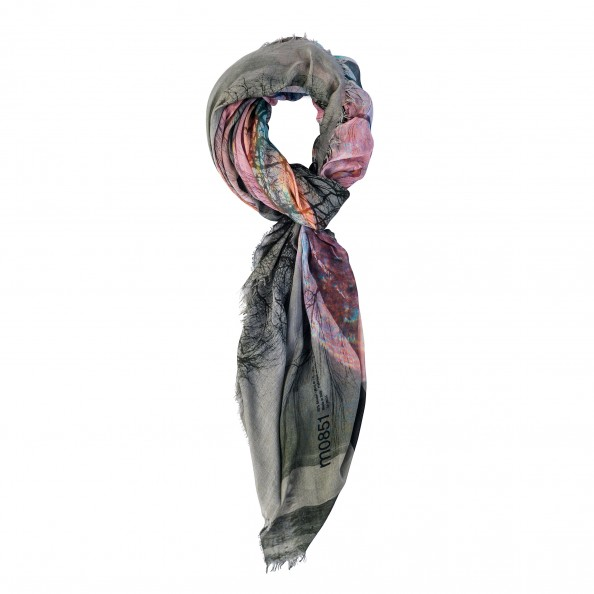 Assorted Color Printed Scarf
