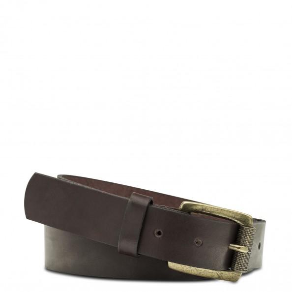 Brown Antique Buckle Belt