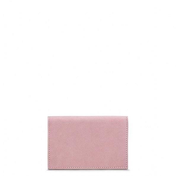 Dusty Rose Folded Card Holder