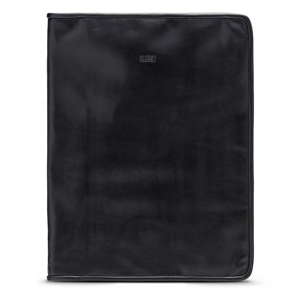 Black Zip Around Document Holder
