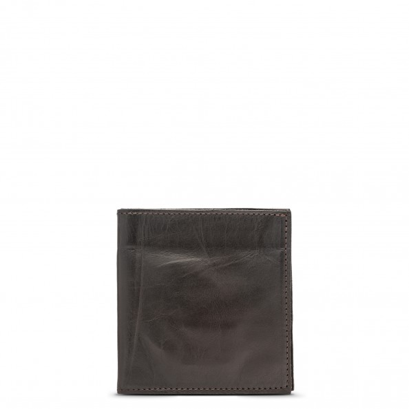 Brown Classic Billfold with Six Card Slots