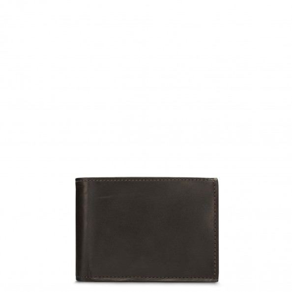 Brown Wallet with Flap