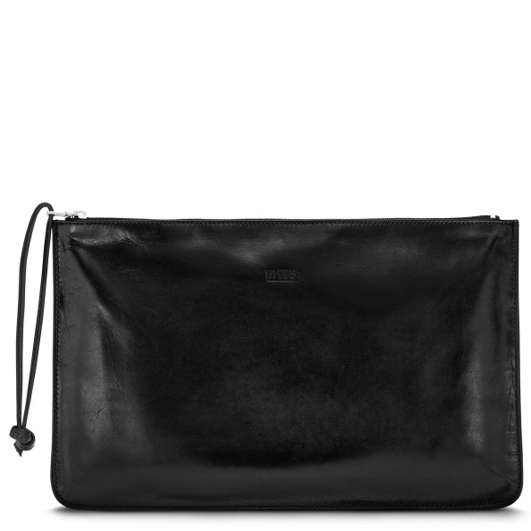 Black Travel Pocket with Wristlet