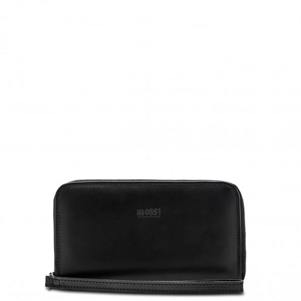Black Zip Around Wallet