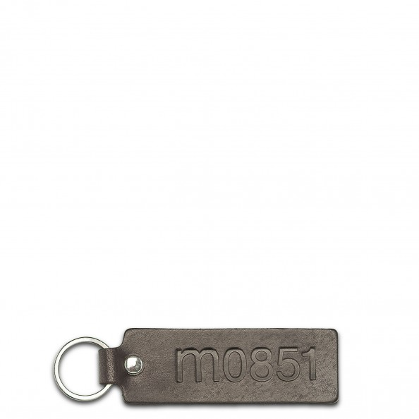 Brown Embossed Key Ring