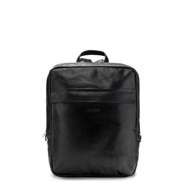 Black Geometry Backpack