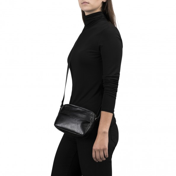 Black Compact Crossbody
