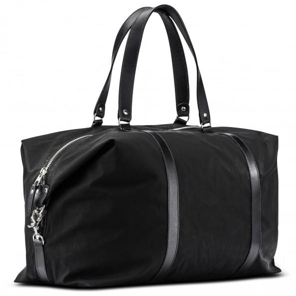 Black Folded Corner Duffle Bag