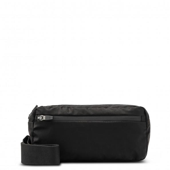 Black Large Belt Bag