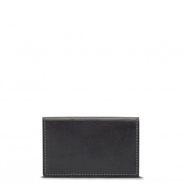 Grey Slim Classic Card Holder