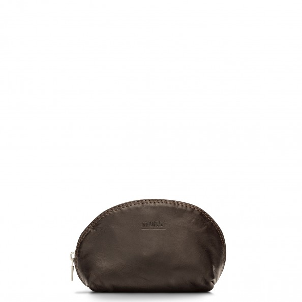 Brown Small Bell Shaped Pouch