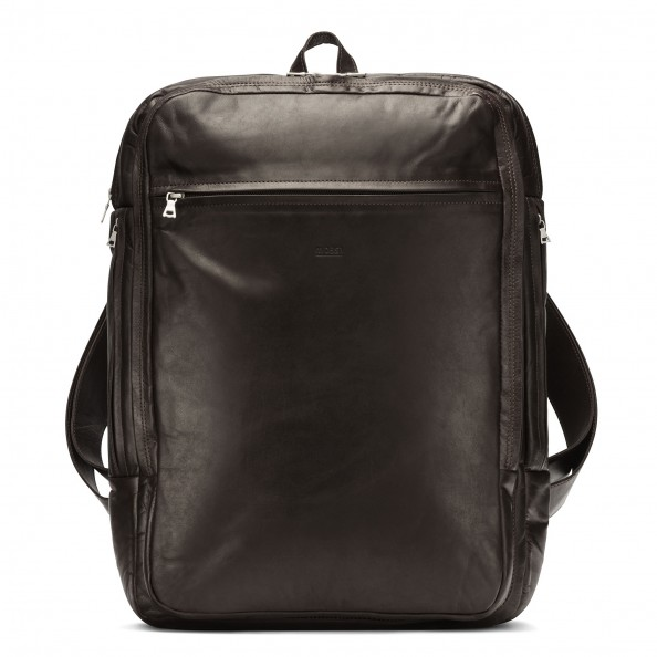 Brown Computer Backpack