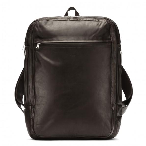 Brown Organizer Backpack